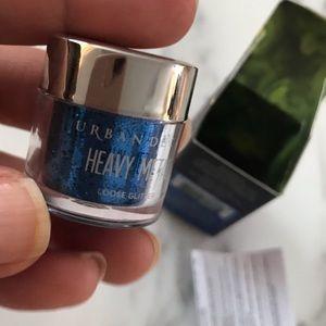 Urban Decay loose heavy metal  glitter -blue